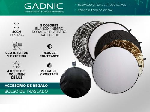 Pantalla Reflectora Gadnic de Fotografia 5 en 1