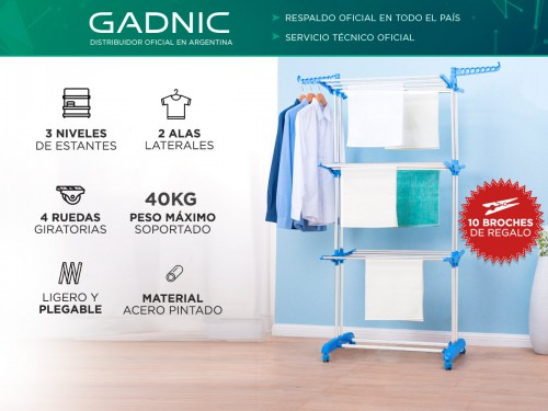 Tender Plegable Gadnic HANG3000