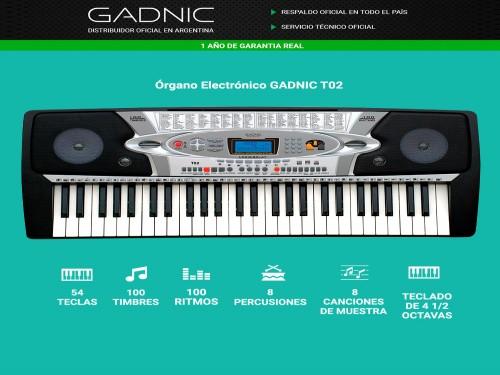 Órgano Electrónico GADNIC T02