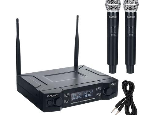 Microfono Inalámbiro Profesional de Mano GADNIC Karaoke Conferencias