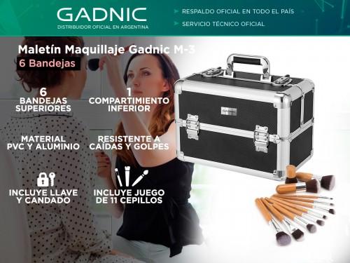 Maletin Maquillaje Gadnic M-3 6 Bandejas