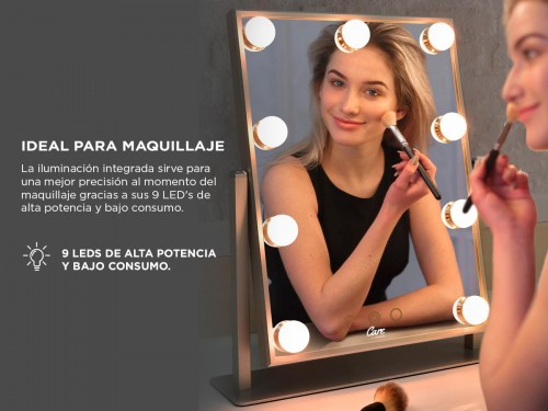 Espejo para Maquillaje Gadnic Led HOLLYWOOD