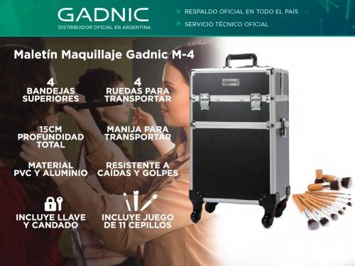 Maletin Carrito Maquillaje Gadnic M-4 4 Bandejas