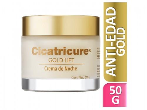 Cicatricure Crema Facial Gold Lift de Noche 50 g