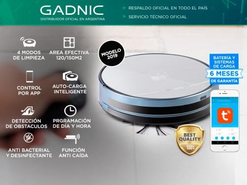 Aspiradora Robot Gadnic Z800 Trapeadora 4