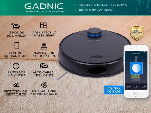 Aspiradora Robot Gadnic Z990 Trapeadora 3