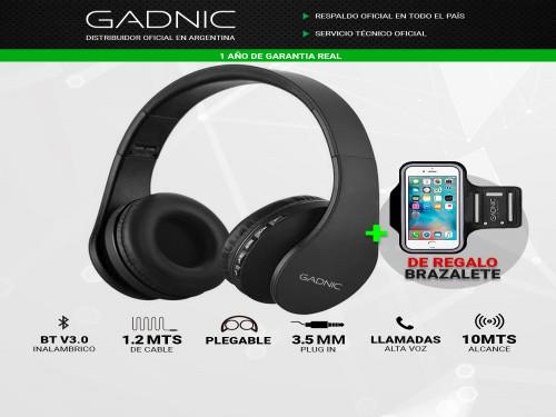 Auricular Bluetooth Gadnic GPlay + Brazalete