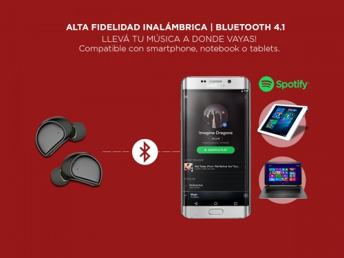 Mini Auricular In Ear Gadnic A600 FIRE Bluetooth