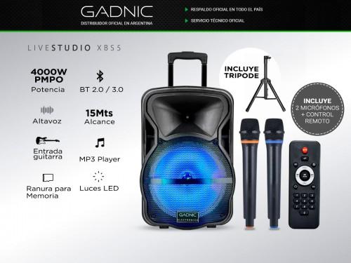 Parlante Gadnic Live Studio XBS5 Bluetooth 4000w