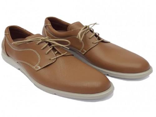 Zapatillas de cuero vacuno colores lisos para hombre art1701 MI CAMPO