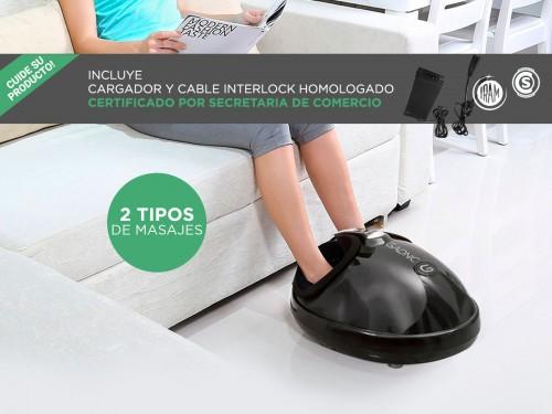 Masajeador Gadnic Foot Massage Luxury Para Pies 2 Modos Terapia Calor