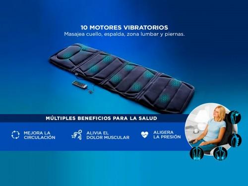 Masajeador Gadnic Mat Massager 10 Motores 5 Modos Terapia de Calor
