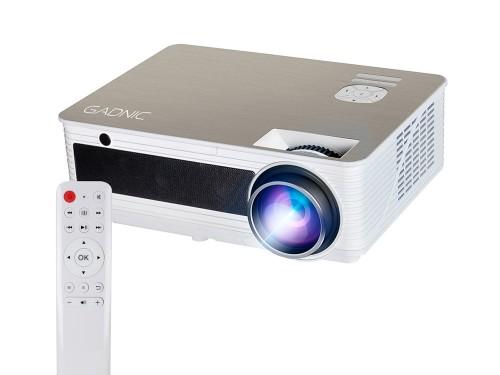 Proyector Gadnic Pro View 5000 Lúmenes HDMI x 2 VGA USB