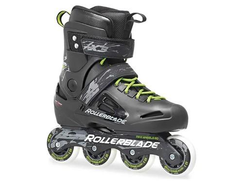 Rollers Negro Urbanos Freestyle Bota Rigida Rollerblade Fusion X3