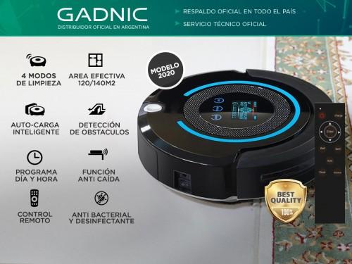 Aspiradora Robot Gadnic Z950 4 Modos 140m2 Pared Virtual Luz UV