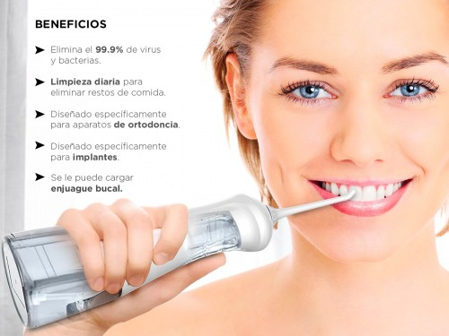 Irrigador Bucal Gadnic WATER001 Alta Potencia Blanqueador Dental