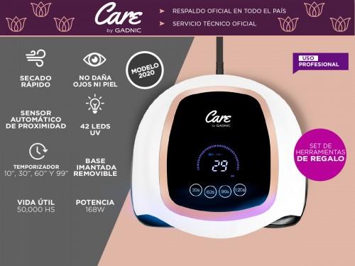 Cabina Para Uñas Gadnic Future V3 168w Uso Profesional Digital y Touch