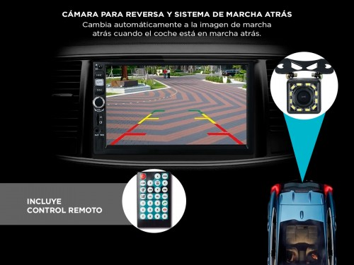 Estereo para Auto Gadnic ESTERE03 Pantalla 7
