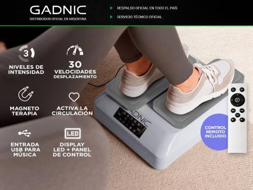 Masajeador Gadnic Easy Move Magnet Pro Piernas y Pies 3 Niveles