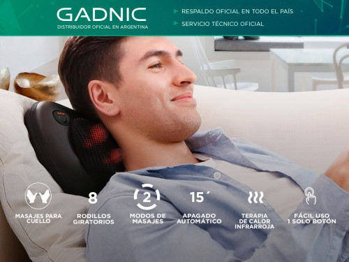 Masajeador Gadnic Wings Cuello Cervical