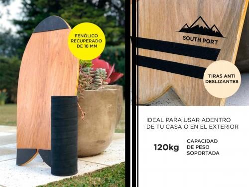 Balance Board South Port Tabla Rodillo de Hierro