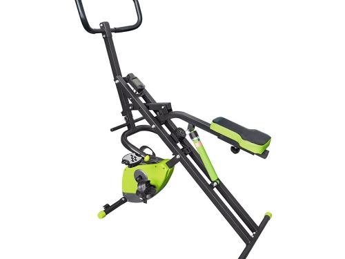 Ejercitador De Abdominales + Bicicleta Magnetica 2 En 1 Entrenamiento