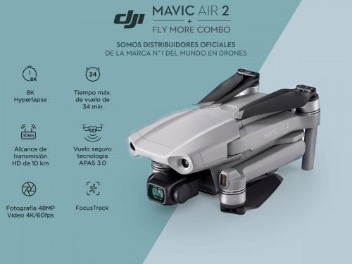 Drone DJI Mavic Air 2 Fly More Combo c/ Cámara 4K