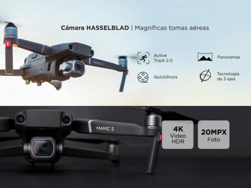 Drone DJI Mavic 2 Pro Fly More Combo Cámara Hasselblad 4K
