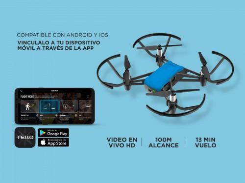 Drone DJI Tello Boost Combo Cámara HD Video y Foto