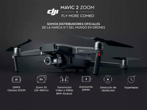 Drone DJI Mavic 2 Zoom Fly More Combo 4K