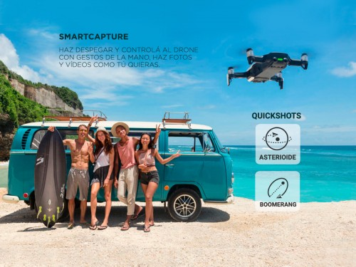 Drone DJI Mavic Air Cámara 4K 3 Ejes QuickShots Vuelta Casa