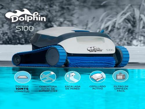 Barrefondo Robot Dolphin S100