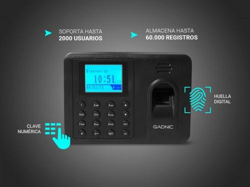 Control de Acceso Biometrico Asistencia Huella Digital Clave Numerica