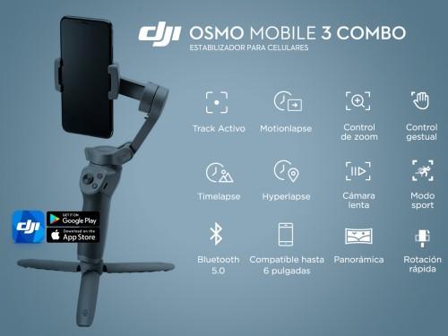 DJI Osmo Movil 3 Combo Estabilizador Para Celulares