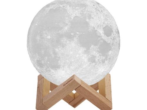 Lampara Luna Velador Recargable Gadnic 13cm