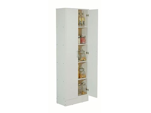 Organizador Multiuso 1.80m + Porta Microondas Mosconi Melamina Blanca