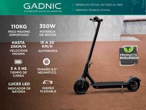 Monopatin Electrico Gadnic Portable 25KM/H Recargable