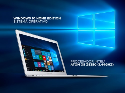 "Notebook Gadnic 15,6"" 4GB 64GB SSD Windows 10"