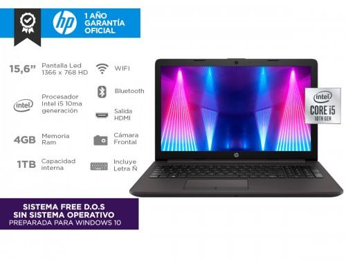 """Notebook Hp 250 G7 153B9LT Intel Core i5-1035G1 4gb 1tb 15,6"""""""