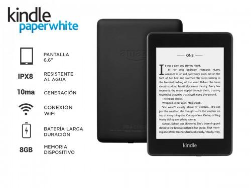 Ebook Amazon Kindle Paperwhite 10ma generación 8GB Wi-Fi