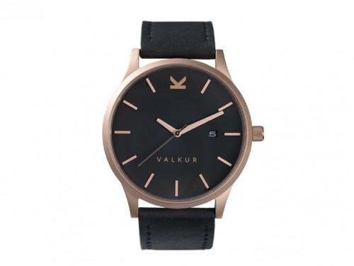 Reloj Varall Cuero Genuino Hombre