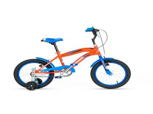 Bicicleta Topmega Crossboy R16 - Azul Naranja