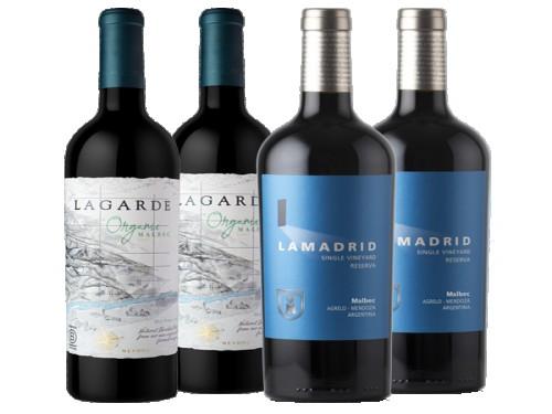 Lamadrid Single Vineyard Reserva Malbec + Lagarde Organic Malbec