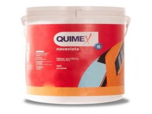 Pintura Latex Exterior Quimex 20 Lts Blanco