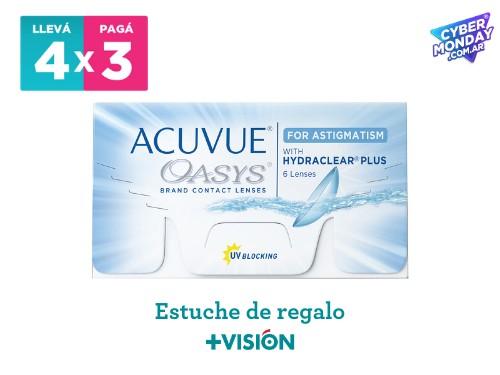Lentes de contacto Acuvue Oasys Astigmatismo | promo 4x3.