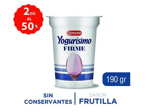 2do al 50% Yogurisimo Ent Firme + Fort 190 Gr