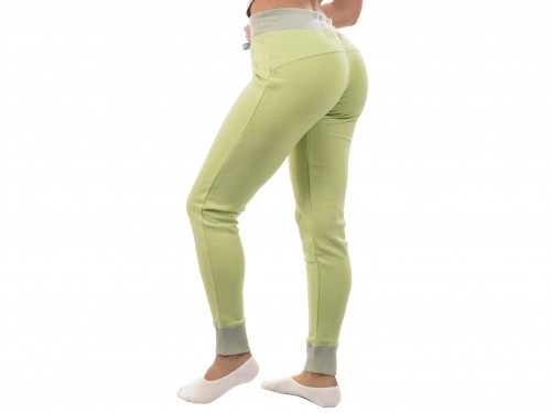 Pantalon Dama Deportivo Comodo Jogger Joggin Babucha Con Puño
