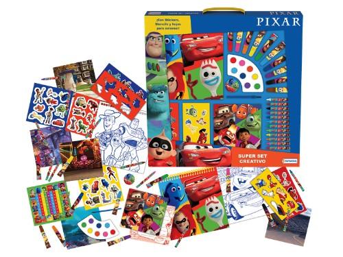 Set XL Arte Pixar / Frozen Acuarelas Juego Arte Para Pintar