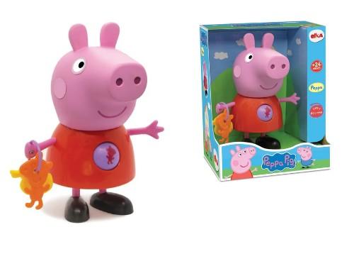 Muñeco Peppa Pig Plástico 30cm primera infancia sonajero