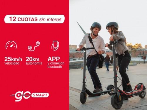 """Monopatin Electrico GoSmart - 450watts de potencia y Ruedas 10"""""""